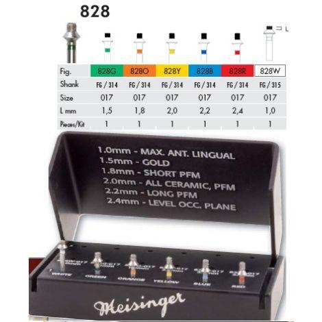 Occlusal Redaciton Kit 828 FG (Meisinger)