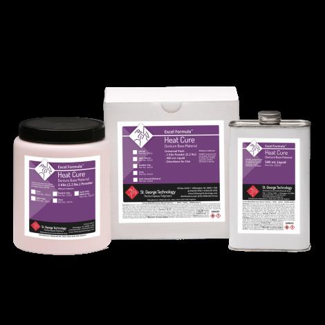 Excel Formula® Heat Cure Denture Base Material (St. George Technology)