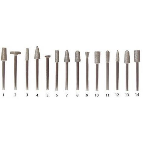 Sintered Diamond Burs HP (Keystone)