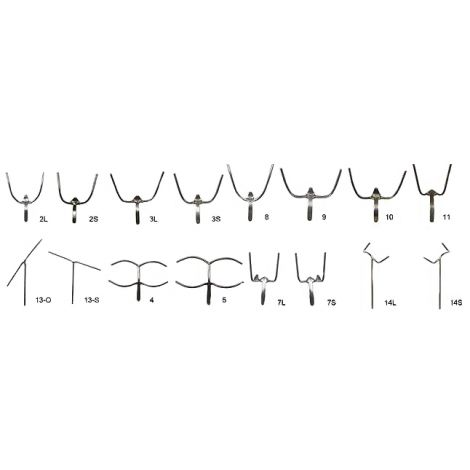 Stainless Steel Wire Clasps (Keystone)
