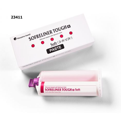 Sofreliner Tough S (Soft) Paste   52g Cartridge
