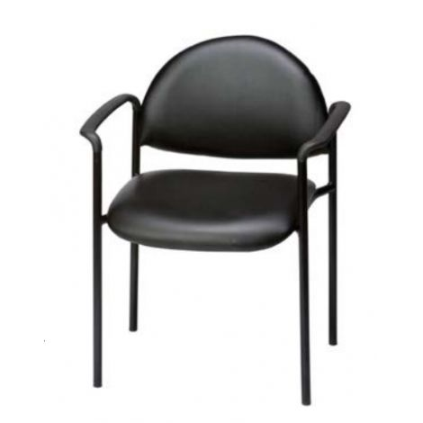 Metal Reception Chair With Arms Model W-600 (Galaxy)