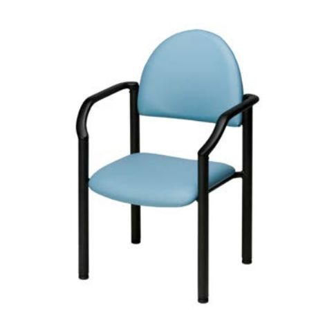 Metal Reception Chair With Arms Model P-95 (Galaxy)