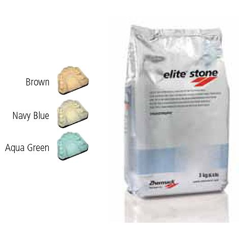 Elite Stone Aqua Green 55 lb (25 kg) Bag