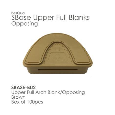 Full Upper Opposing - No Pins/Blank (100pcs/box)