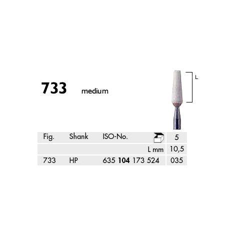 Flat End Taper Abrasives for Model Casting White Medium (Meisinger)