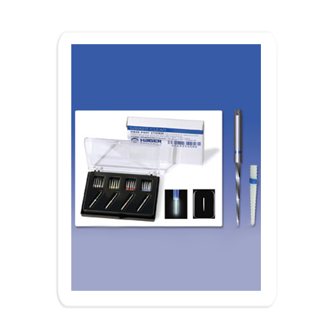 Mirafit Clear Fiber Post System - Radiopaque & Translucent (Hager)