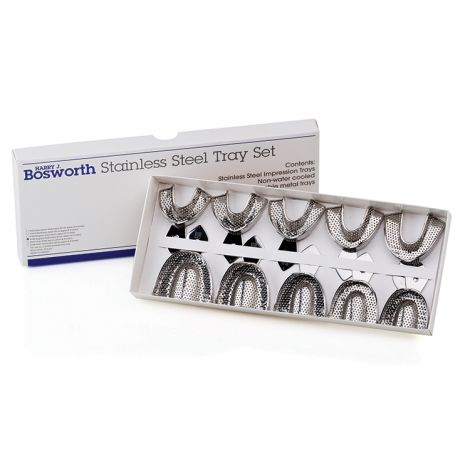 Stainless Steel Impression Trays Edentulous (Bosworth)