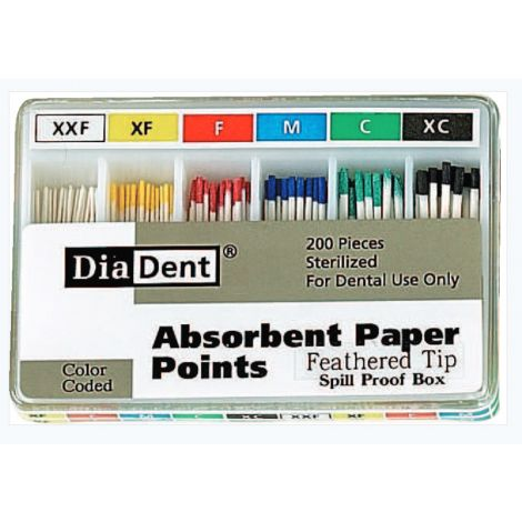 Paper Points Feathertip Spillproof (DiaDent)