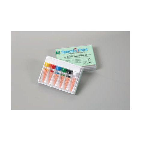 SpectraPoint Greater .04 & .06 Taper Gutta Percha (Hygenic)