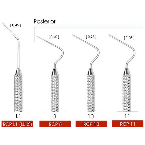 Root Canal Pluggers Single End (PacStar)