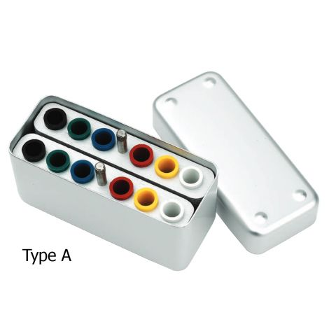 Small Combi Endo Boxes Type A, B, C (DiaDent)