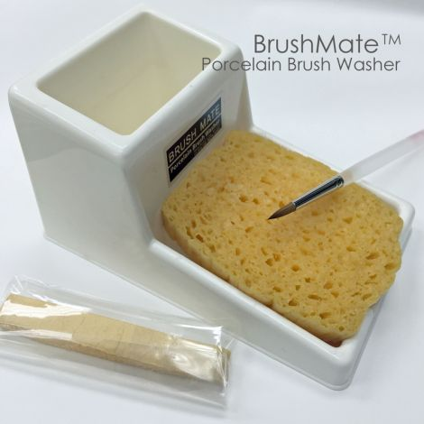 BRUSHMATE Porcelain Brush Washer (Meta Dental)