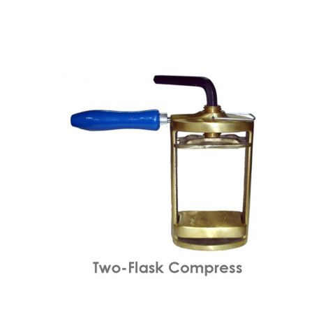 Double Brass Denture Flask Compressor (Meta Dental)