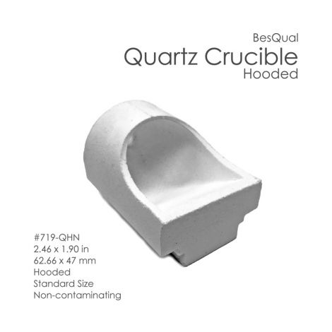 Quartz Crucible Mini-Hooded QMN #731