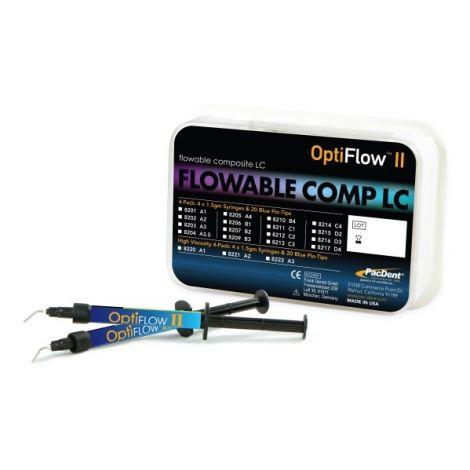 Opti-Flow II Flowable Composites LC (Pac-Dent)