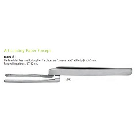 Articulating Paper Forceps (Nordent)