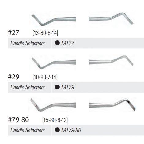 DE Margin Trimmer #79-80 (15-80-8-12) DuraLite ROUND Handle
