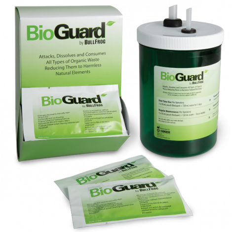 BioGuard Dental Evacuation Microbial Enzyme Cleaning System (Hager)