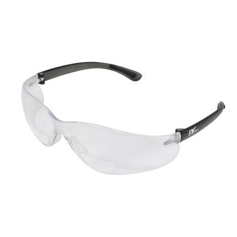 ProVision EZ-Focals Eyewear, black frame/clear lens, +2.0 diopter