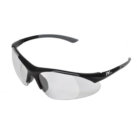 ProVision Econo Loupes Eyewear, black frame/clear lens, +2.0 diopter, each