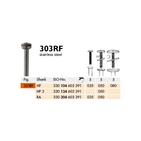 RA 303RF-035 Stainless Steel Mandrels Pk/5