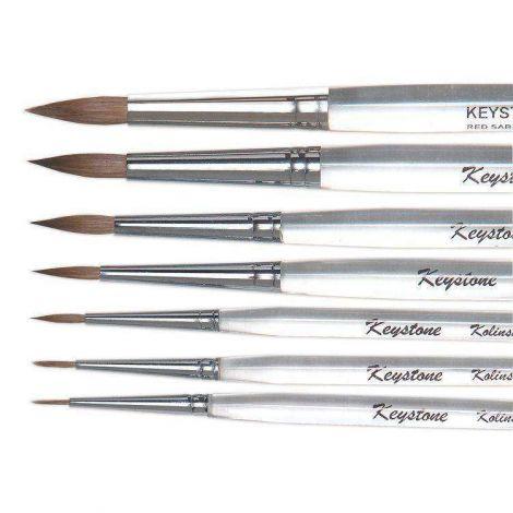 Kolinsky Ceramist Brushes (Keystone)