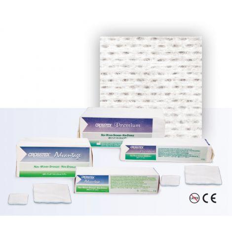 Premium Non-Woven 4 Ply Sponges Non-Sterile (Crosstex)