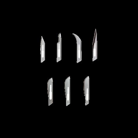 BD Bard Parker Non Sterile Rib-Back Carbon Steel Blades (Crosstex)