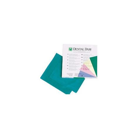 "Dental Dam 6"" x 6"" Latex (Hygenic)"