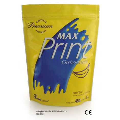 Max Print Orthodontic Alginate (MDC)
