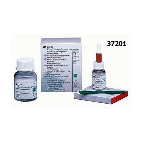 Ketac Cem Radiopaque 33gm Pwd only
