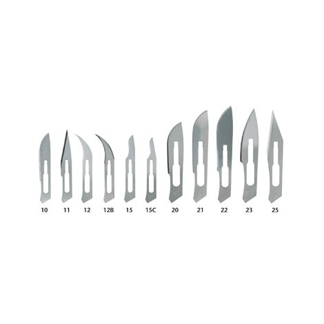 Sterile Disposable Surgical Blades (Miltex)