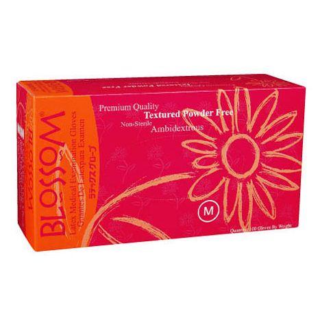 Blossom Powder Free Textured Latex Exam Gloves (Mexpo)