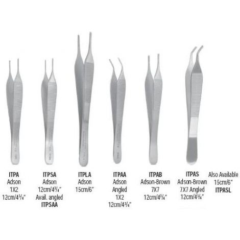 Adson Tissue Pliers (G. Hartzell & Son)