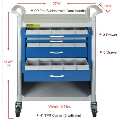 Supply Cart (Plasdent)