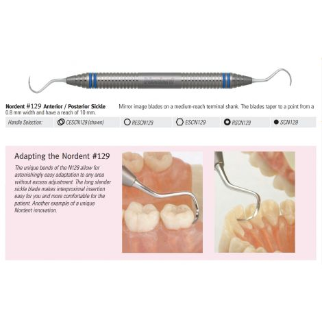 Anterior/Posterior Double End Scaler (Nordent)