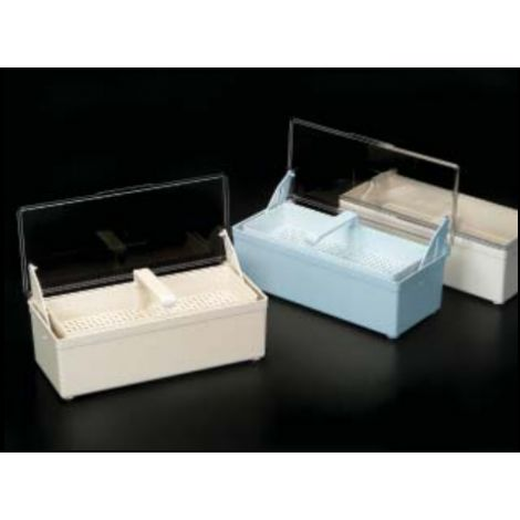 Germicide Tray White With Clear Lid