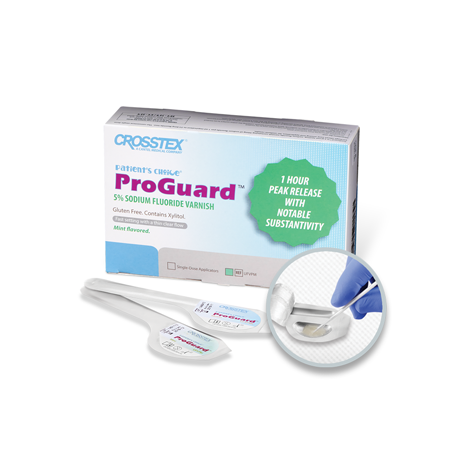 ProGuard® 5% Sodium Fluoride Varnish (Crosstex)