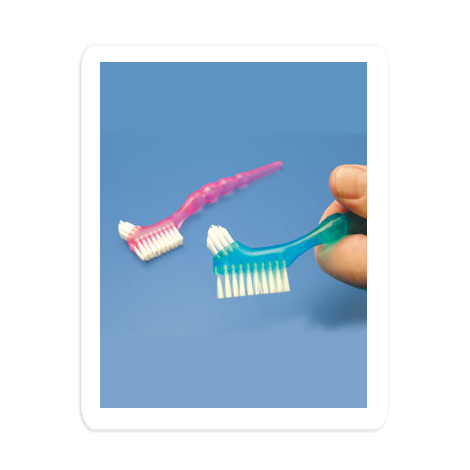 Protho Brush DeLuxe Prosthesis/Denture Brush (Hager)