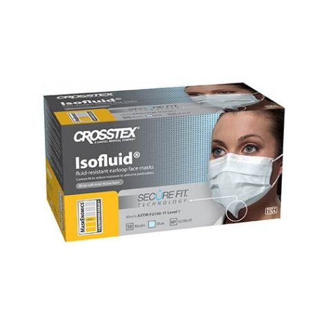 Isofluid® Earloop w/Secure Fit® Mask Technology (Crosstex)