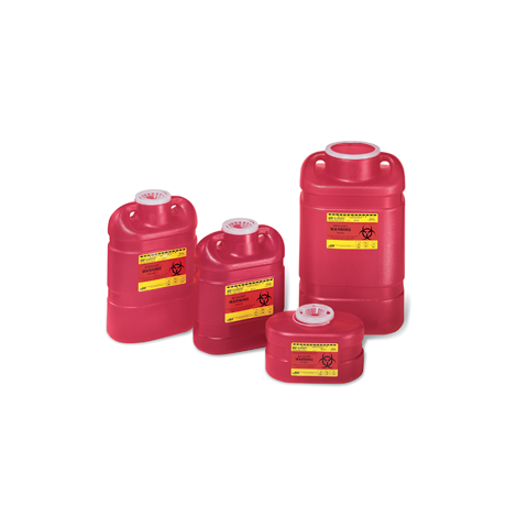 Multi-Use, One Piece Sharps Containers (Crosstex)