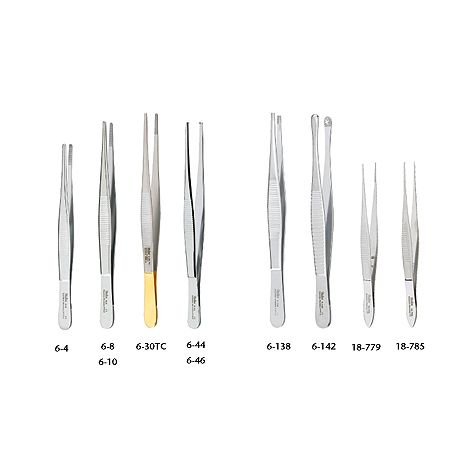Dressing and Tissue Forceps (Miltex)