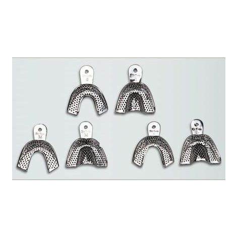 Metal Perforated Impression Trays Regular (DiaDent)