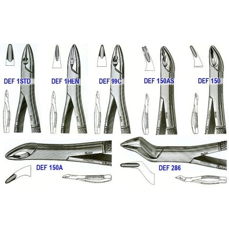 Extracting Forceps UPPER INCISORS & CUSPIDS / Economy /