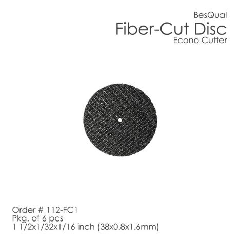 Fiber Cut Discs (Econo Cutters) (Meta Dental)