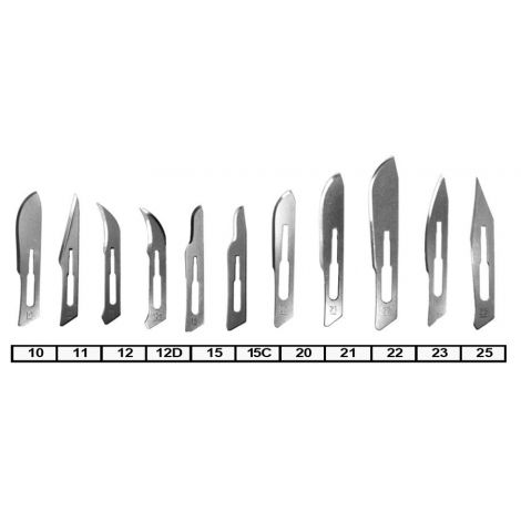 Stainless Steel Surgical Blades (Meta Dental)