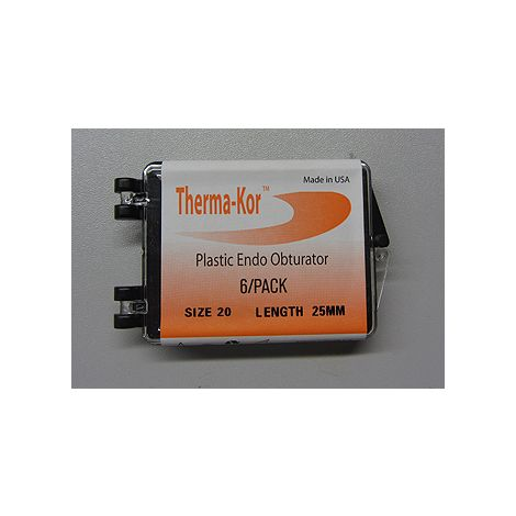 Therma-Kor Plastic Endo Obturator (First Choice)