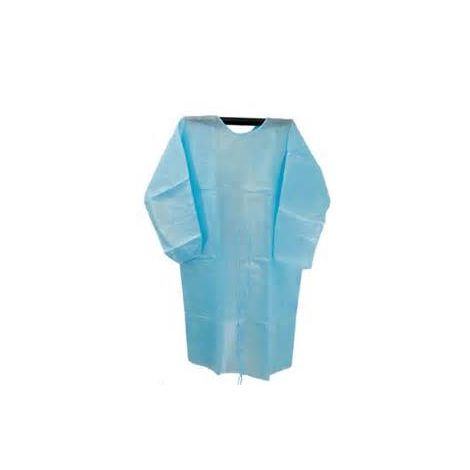 Isolation Gown with Latex Knitted Cuff Standard (Mexpo)