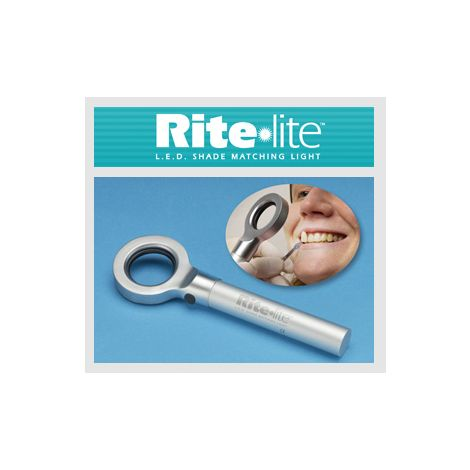 Rite lite Shade Matching Light - 6 LED's. Includes 1 Neutral Color Pad with 25 sheets